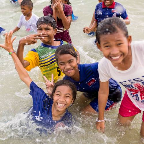THE FIVE NHO YOUTHS RETURNING TO CAMBODIA